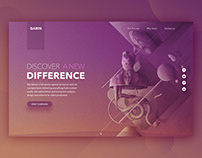 Garin SMM Agency Landing Page