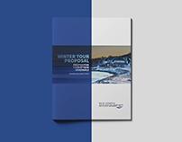 Brochure promotionnelle pour Croisière Baie-Comeau