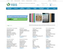 """Интернет-магазин электроники """"Vidis"""""""
