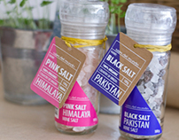 Sales del Mundo - Pink & Black Salt