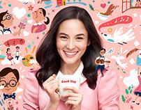 Kopi Goodday // Epic Sweetness // Print Ad