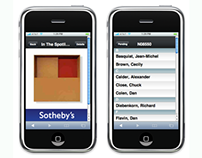 Sotheby's E-Catalogue (for Studio Kudos)