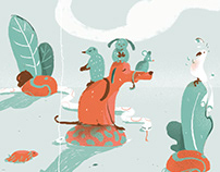Dogs | Illustrations for Gaia