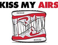 Nike Air Max - Kiss my airs