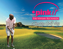 Pink It Charity Golf Day, Sir Vivian Richards