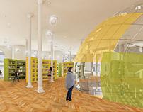 Design 5: Bollente Bookstore