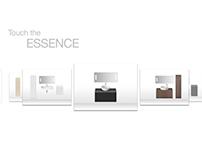Interactive Washbasin & Furniture Application