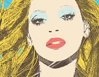 Beyonce's Andy Warhol-esque Portrait