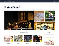 web | Lostenfaund site