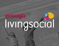 Ensogo/LivingSocial: Web Design