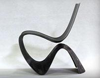 Ch'air le fauteuil aérien en carbone par Paul Venaille