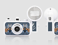 LOMO Camera Pattern Design