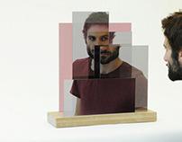 Miroir Layered me par le studio Mischer Traxler