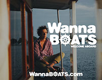 Logo for WannaBoats
