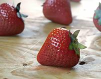 3d // Strawberry CGI