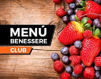 Menú Benessere Club