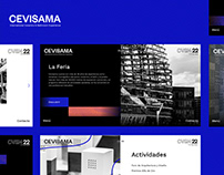 Website Design for Cevisama (Feria Valencia)