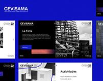 Website Design for Cevisama (Feria Valencia)