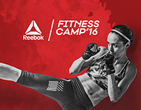 #RFC digital spot for  Reebok Fitness Camp'16