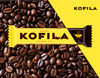 Kofila Chocolate bar packaging