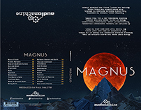 Magnus Album Cover Layout Design