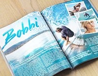 Surf Magazine Article Mockup
