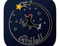 Studio Ghibli app icons