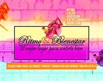 Ritmo & Bienestar / Flyer + Banner + Vinilo