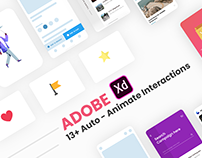 Adobe Xd Auto - Animate UI kit