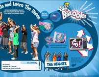 Bazooka Bubble Gum : relaunch of a brand