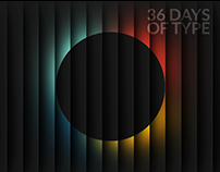 36 Days of Type 🔡 | 2018 Edition