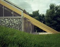 House in Bioclimatic Experimental Urbanization