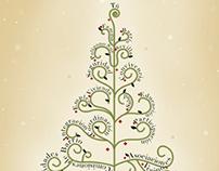 Tarjeta navideña del Comisionado del Polígono Sur