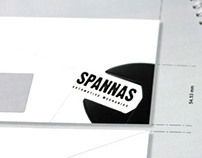 Spannas automotive mechanic Logo design