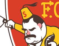 Belvederes F.C. Logo