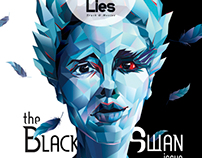The Black Swan cover for Little White Lies