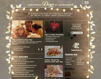 Sainsbury's christmas 2012 / AOL overlay