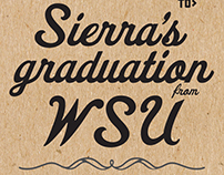 WIP Graduation Annoucements & Invitations