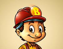 Bigolin Materiais de Construção - Mascote