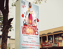 Valentine`s  Day Event Poster