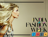 India Fashion Week Sample Banner