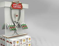 Exhibidores Budweiser - Stella Artois
