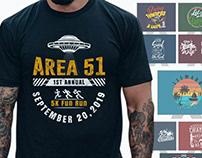 T shirt illustration graphic bundle