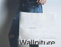 Wallniture Logo Design
