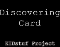 "Discovering Card video for ""KIDstuf"""