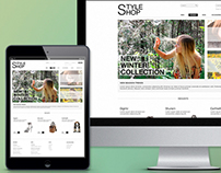 StyleShop Website