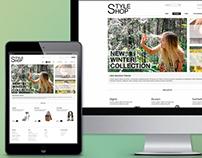 StyleShop Website