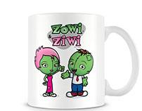 Zowi Mugs -  ¡Ponte vivo!