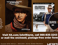 John Wayne auction project