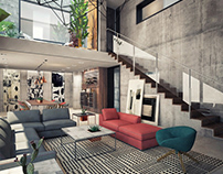 Villa interior design